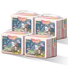 베베룩스 일라스틱핏 밴드형 중형 기저귀 22매 x 4팩